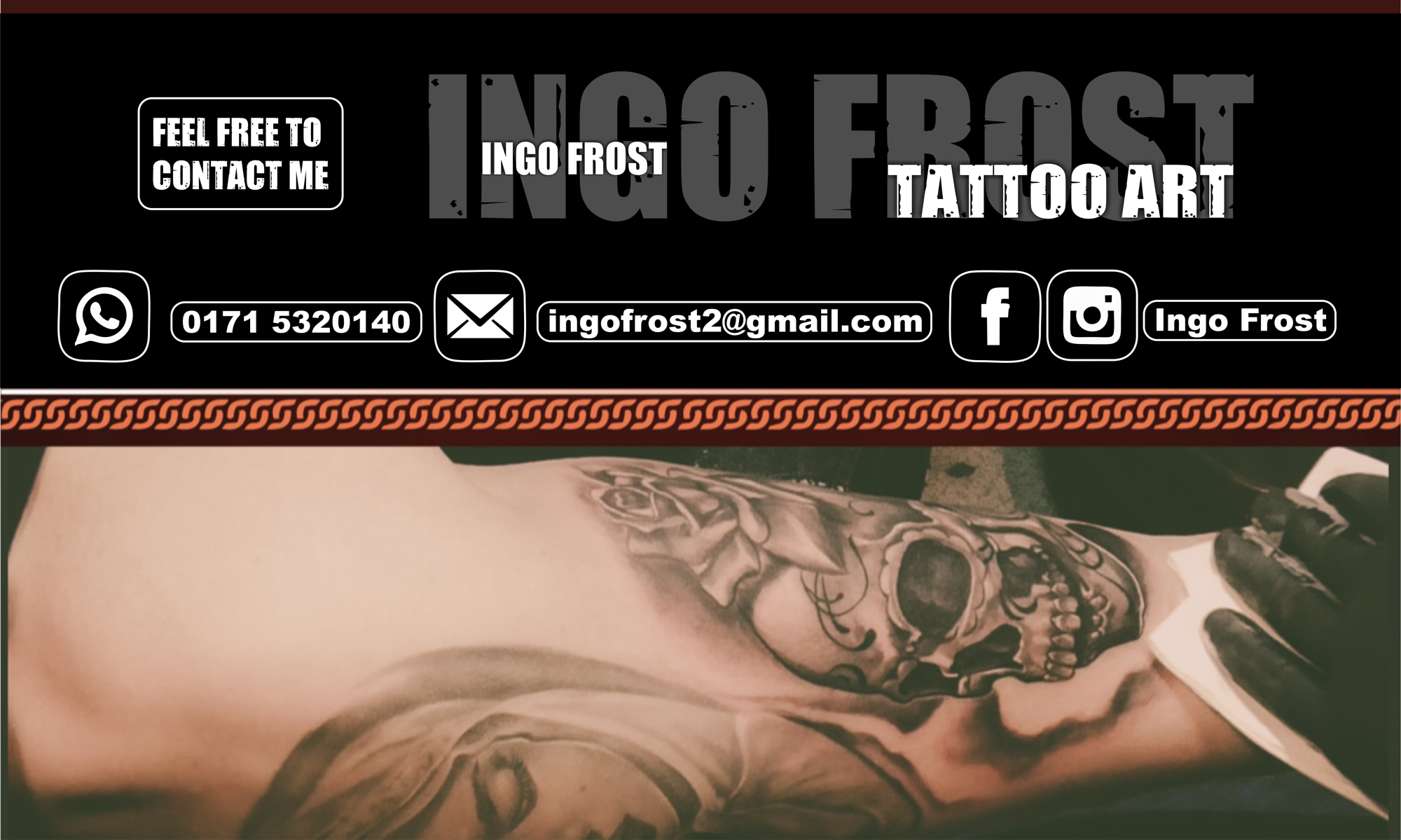 INGO FROST TATTOO ART